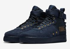 Official Images Of The Nike SF-AF1 Mid Obsidian Suede