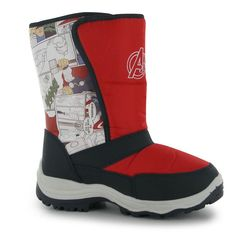 Boys Marvel Avengers Winter Boots