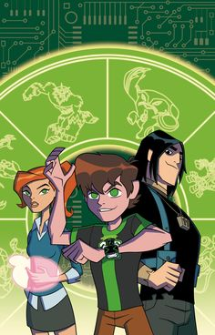 Cover Sample for Ben 10 Omniverse
