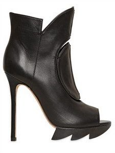 f768c146090 Shop for Open Toe Zigzag Calfskin Boots by Camilla Skovgaard at ShopStyle.