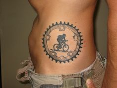 Suz Lowry, Sacramento, CA by Squirrels Cycling Tattoo Collection, via Flickr