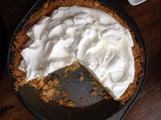 @alyson_chadaz you might like this. Super easy to make! Atlantic Beach Pie is a salty and citrusy staple of the coast. Katie Workman, author of The Mom 100 Cookbook, shared the recipe for All Things Considered's Found Recipe series.