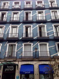 Fotografía de nuestro hostal en madrid