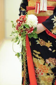 kimono + Japanese taste bouquet