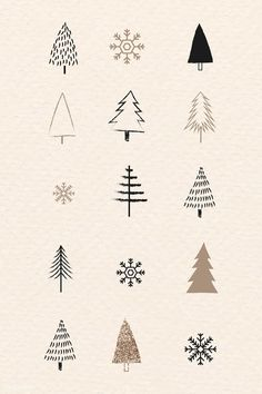 premium vector of Christmas elements doodle pattern vector 1228268 - Millions of Creative Stock Photos, Vectors, Videos and Music Files For Your Inspiration and Projects. Christmas Doodles, Christmas Drawing, Christmas Crafts, Christmas Decorations, Christmas Tree Sketch, Christmas Christmas, Vector Christmas, Christmas Artwork, Christmas Print