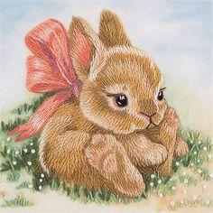 Набор для вышивания Panna ЖК-2098 Крольчонок
