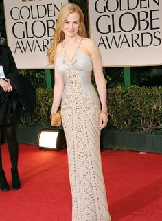 Nicole Kidman - dress Versace