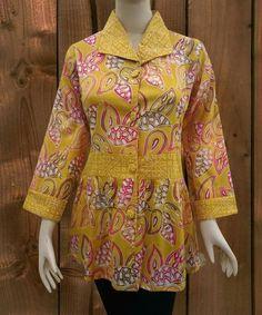 Blouse Batik, Batik Dress, Garba Dress, Punjabi Salwar Suits, Batik Fashion, Embroidered Clothes, Kebaya, Sleeve Designs, Kurtis