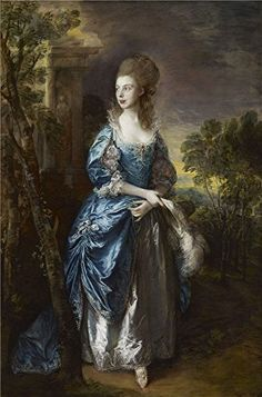 Oil Painting 'Thomas Gainsborough - The Hon. Frances Duncombe, C. 1777', 20 x 30 inch / 51 x 77 cm , on High Definition HD canvas prints is for Gifts And Basement, Garage And Gym Decoration, reviews