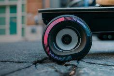 Boosted rolls out squishier wheels for smoother, faster rides Skateboard Wheels, Skateboard Design, Skateboard Videos, Skateboard Art, Mobile Robot, Big Wheel, Longboarding, Shopping, Surfing