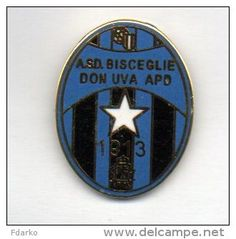 Pq1 A.S.D. Bisceglie Don Uva APD Calcio Distintivi FootBall Pins Soccer Pin Spilla Italy