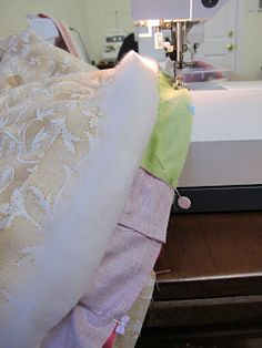 Urban Sewing Lounge: Quilt as you go - direct join technique