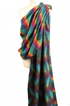 Buzzidil Wrap it! Woven Wrap, Tie Dye Skirt, Baby, Wraps, Rainbow, Feathers, Skirts, Fashion, Cotton