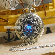 Harry Potter Victorian Charm Ravenclaw Pocket Watch by KnightMaket, I love pocket watches! Harry Potter Charms, Harry Potter Fan Art, Slytherin And Hufflepuff, Hogwarts Letter, Pocket Watch Necklace, Fashion Necklace, Fashion Jewelry, Mischief Managed, Gifts For Women