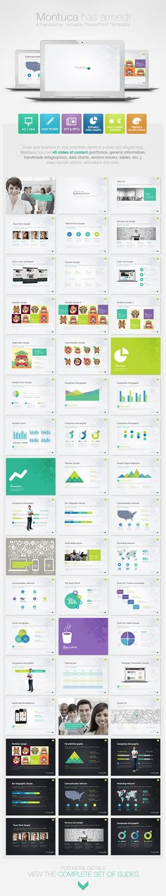 Montuca Powerpoint Presentation Template - Creative PowerPoint Templates
