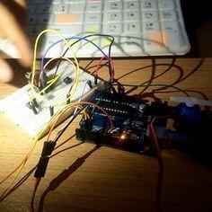 جاري العمل  #New_project  #speed#solarsolarpower#power#play#hack#greenenergy#arduino#LED #project#sensor#DIY#SQU#جسق#مشروع#مشروع_التخرج#أفكار#فكرة#صنع#علوم#ابتكار#اختراع#مبتكر#ابداع by almk2