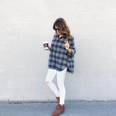 The PERFECT every day outfit!! Loving this flannel!! XO http://rstyle.me/n/b5us6mzb96