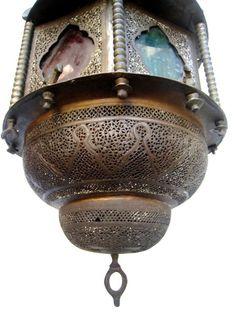"1stdibs.com | Moroccan Lantern $3800 23"" JUST LIKE MINE 19TH CENTURY"