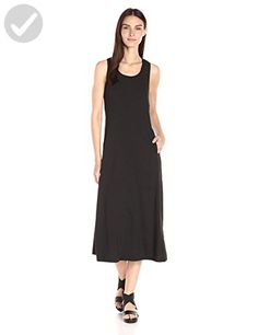Theory Women's Vlorine Crunch Wash Midi Dress, Black, 8 - All about women (*Amazon Partner-Link)