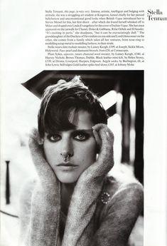 ☆ Stella Tennant | Photography by Steven Meisel | For Vogue Magazine UK | December 1993 ☆ #stellatennant #stevenmeisel #vogue #1993