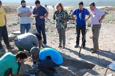 El Campo de Trabajo de Cástulo se centra en la documentación y estudio de los restos