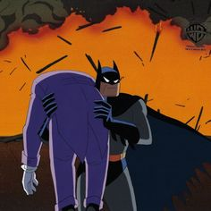 Batman Fight, Joker Dc Comics, Batman The Animated Series, Partners In Crime, Animation Series, Harley Quinn, Background Images, Poison Ivy, Fine Art