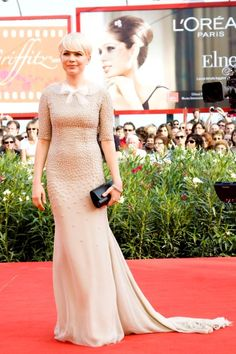 Michelle Williams at the Venice Film Festival