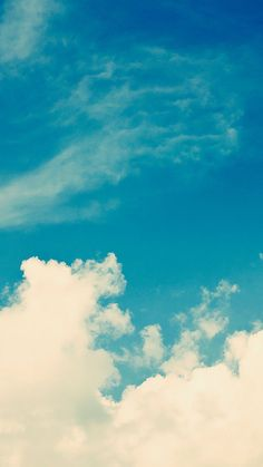 Blue Sky ☼ Find more Summer themed wallpapers for your #iPhone + #Android @prettywallpaper