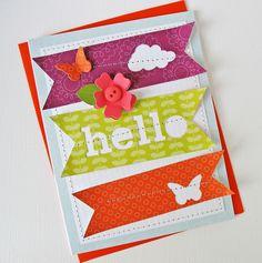 Card: Hello - Pebbles
