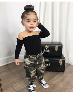 Boho Kids fashion Winter - - - - Kids fashion Baby Take Home Outfit - Cute Mixed Babies, Cute Black Babies, Black Baby Girls, Cute Babies, Black Kids, Cute Little Girls Outfits, Toddler Girl Outfits, Little Girl Swag, Baby Boy Swag