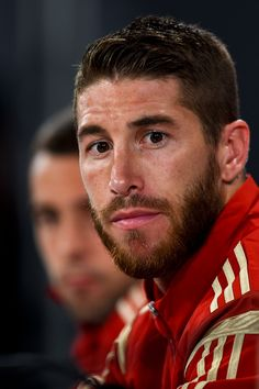 Sergio Ramos Photos: Spain Training  Press Conference - 2014 FIFA World Cup Brazil