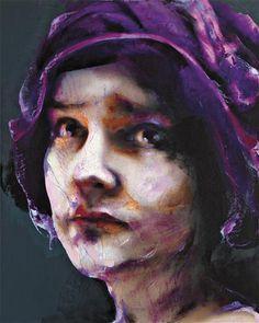 Lita Cabellut, a fabulous female artist. …