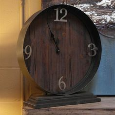 Horlbeck Clock #furniture #interiordesign #desmoines #homedecor #beautiful #style #home #photooftheday #art #accessories - See more at: bydesignthestore.com
