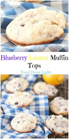 I loved these!  Can't wait to make them again.  Blueberry Lemon Muffin Tops Low Calorie Low Fat  Healthy Breakfast or Snack Recipe