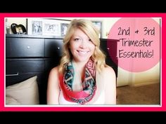2ND & 3RD TRIMESTER ESSENTIALS! (Belly Balms, Clothing, Stretch Mark Pre...