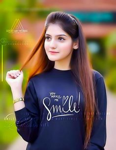 tech ~ Pin on Girls dpz ~ Oct 2019 - young girl dp in blue shirt with long hair, in this girl dp Beautiful Girl Photo, Beautiful Girl Indian, Beautiful Girl Image, Beautiful Indian Actress, Beautiful Gif, Cute Girl Poses, Girl Photo Poses, Girl Photography Poses, Picture Poses