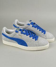 52ff83c3f5e6 Puma Suede Vntg gray violet puma royal  puma  sneakers  shoes  streetwear