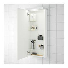 GODMORGON Vægskab med 1 dør - hvid - IKEA