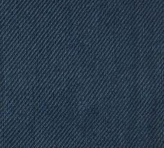 Solid Weave Linen Indigo - Elizabeth Eakins