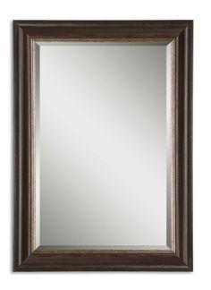Dark Bronze Rectangle Mirror  Click here to purchase: http://www.houzz.com/photos/17606972/Dark-Bronze-Rectangle-Mirror-traditional-mirrors