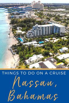 Are you looking for things to do in Nassau, Bahamas on a cruise vacation or other travel layovers? Here are the best things to see & do while in this cruise port to make the most of your shore time. From exploring downtown the island, spend the day at Atlantis Resort, take a trip to the Blue Lagoon, relax on the beach, and so much more. Check out our post for fun things to do, beautiful photo op destinations, shore excursions, and historical landmarks. Cruise Excursions, Cruise Destinations, Cruise Port, Shore Excursions, Cruise Vacation, Southern Caribbean, Caribbean Cruise, Top Cruise Lines, Cruise Ship Reviews