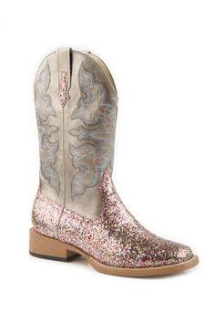 Women's Glitter Boot by Roper Boot Company