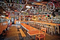 Road 34 Bike Shop (and bar), Fort Collins, Colorado