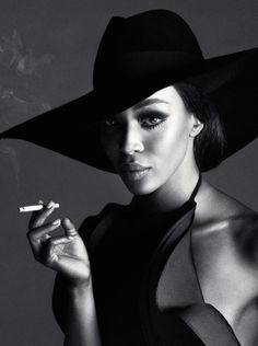 The Model's behind 'The Face' - Naomi Campbell
