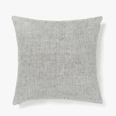Vintage Linen Cushion in Pebble