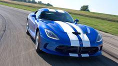 New SRT Viper in blue.