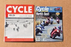 Fifty years ago newsstands in grocery and liquor stores were crammed with motorcycle magazines boasting energetic names like Popular Cycling, Motorcycle World, Modern Cycle, Cycle Illustrated, Hot Bike and Big Bike. Leading the pack, though, were the four major stalwarts, Cycle, Cycle World, Cycle Guide and Motorcyclist, which, first published in 1912, could be construed as the granddaddy of American motorcycle magazine titles. Magazine Titles, Motorcycle Touring, American Motorcycles, Liquor Store, Hot Bikes, Print Magazine, How To Be Outgoing, The Dreamers, Magazines