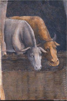 L'Aquila, chiesa della Beata Antonia, affreschi, Nativita