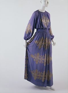 Dinner Dress  Jeanne Lanvin, 1939  The Metropolitan Museum of Art