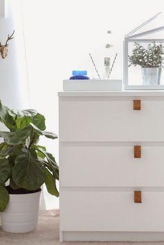 Cómo customizar la cómoda Malm de Ikea y que te quede de cine - Deco & Living